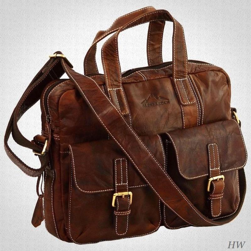 Alpenleder Messenger-Bag Alpsee