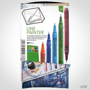 Derwent Line Painter Set 2