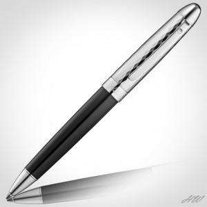 Waldmann Précieux Kugelschreiber mit Diamantschnitt-Dekor