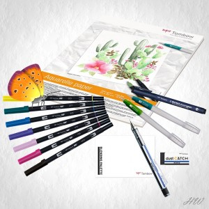Tombow Have Fun @ Home Set Watercoloring