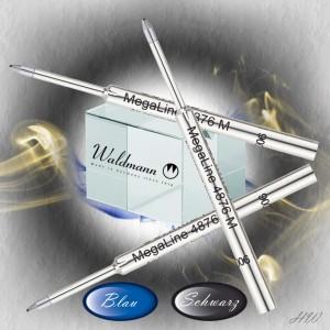 Waldmann Gasdruck-Kugelschreiberminen