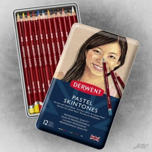 Derwent Pastel Pencils 12S