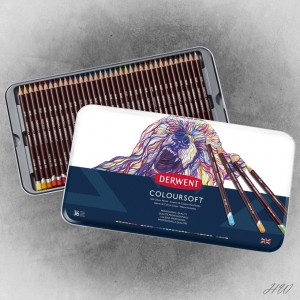 Derwent Coloursoft Pencils 36
