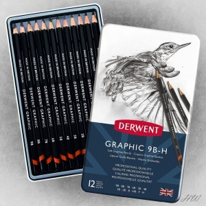 Derwent Graphic Pencils 12S