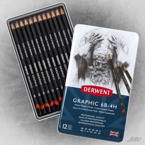 Derwent Graphic Pencils 12M