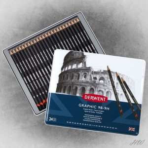 Derwent Graphic Pencils 24