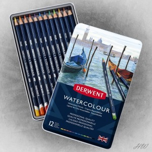 Derwent Watercolour Pencils 12