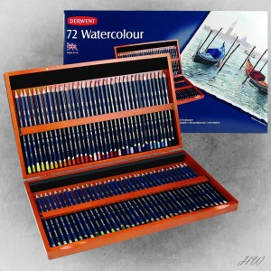 Derwent Watercolour Pencils 72H