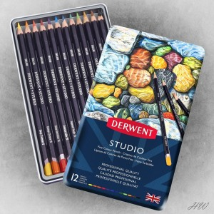 Derwent Studio Pencils 12