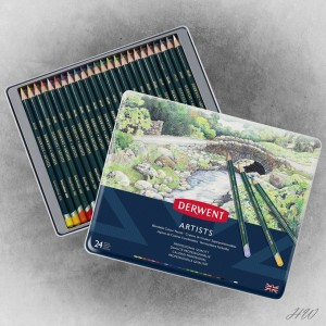 Derwent Artists Pencils 24