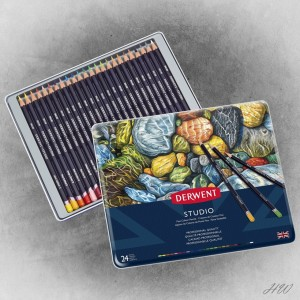 Derwent Studio Pencils 24