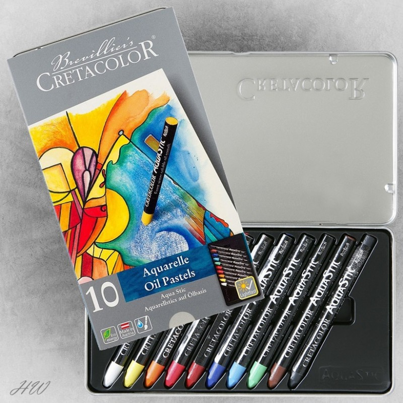 Cretacolor Aquastic Oil Pastels 45010