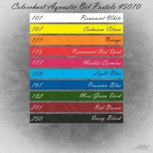 Colorchart Cretacolor Aquastic Oil Pastels 45010