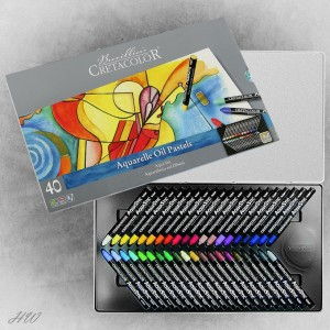 Cretacolor Aquastic Oil Pastels 45040