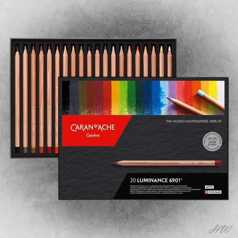 Caran d´Ache Luminance 6901 Farbstifte 20