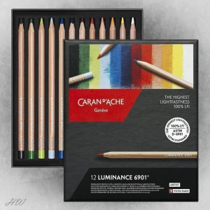 Caran d´Ache Luminance 6901 Farbstifte 12