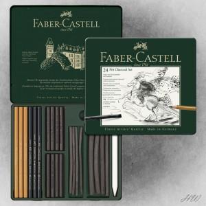 Faber Castell Pitt Charcoal Set 112978