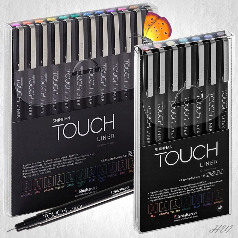 ShinHan Touch Liner Color-Sets