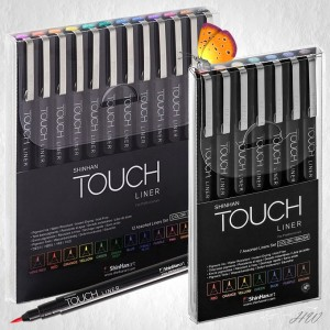 ShinHan Touch Liner Brush Color-Sets