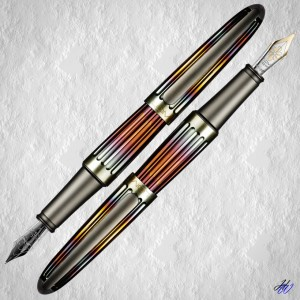 Diplomat Füllfederhalter Aero Flame
