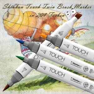 Shinhan Touch Brush Marker