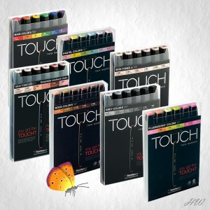 Shinhan Touch Twin Marker 6er Sets