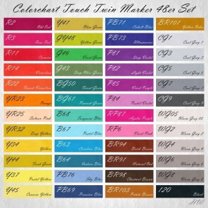 Colorchart Shinhan Touch Twin Marker 48er-Set