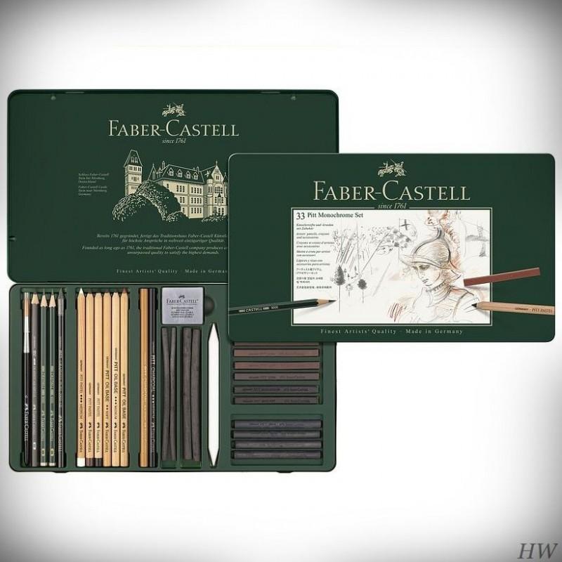 Faber Castell Pitt Monochrome-Set 112977