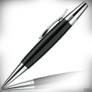 Faber Castell Kugelschreiber E-Motion Edelharz Parkett