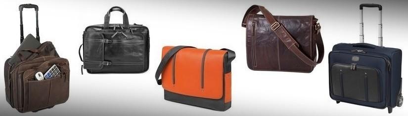 Taschen und Trolleys für Freizeit und Beruf aus exklusivem Leder